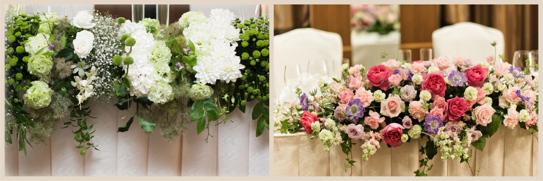 会場装花|サンプル